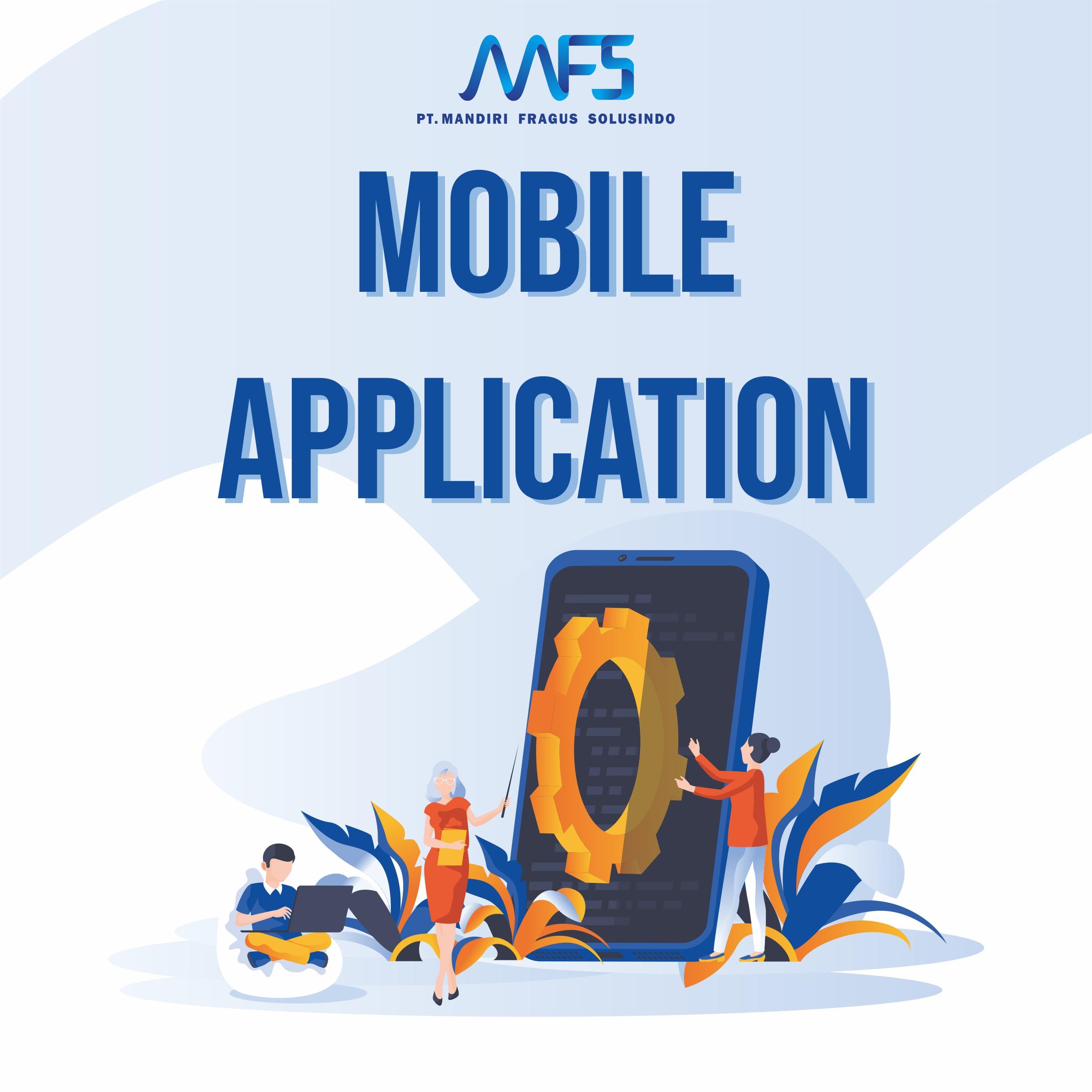 Manfaat mobile application android / ios bagi perusahaan