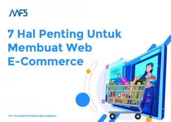 7 Hal Penting Ini Ketika Membuat Web E-Commerce